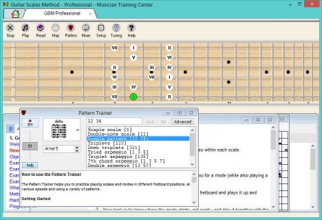 Guitar Scales Method screenshot