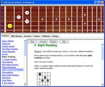 100 Chords Method - course screen shot