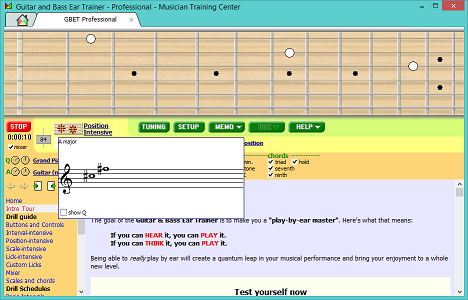 Guitar And Bass Ear Trainer screenshot